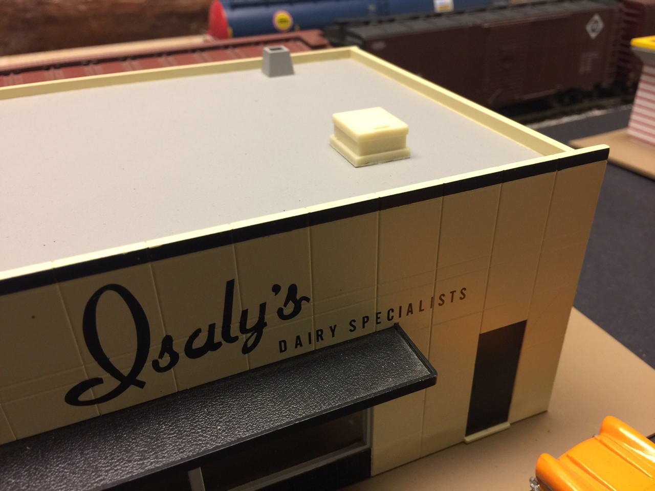 48-3027 Building Roof Hatch O scale Resin QTY2