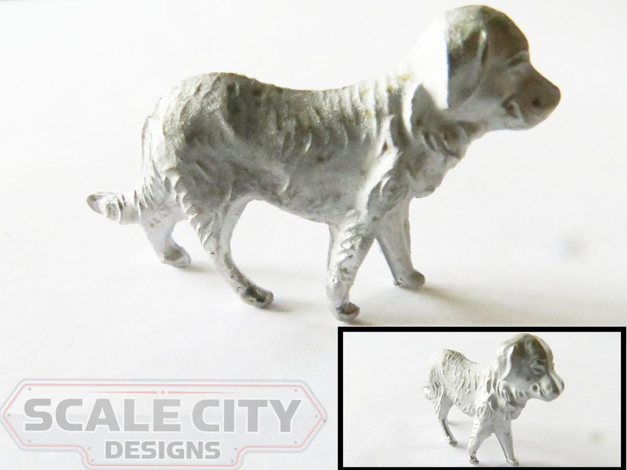 48-636 Large Dog Figure O Scale FKA Keil Line