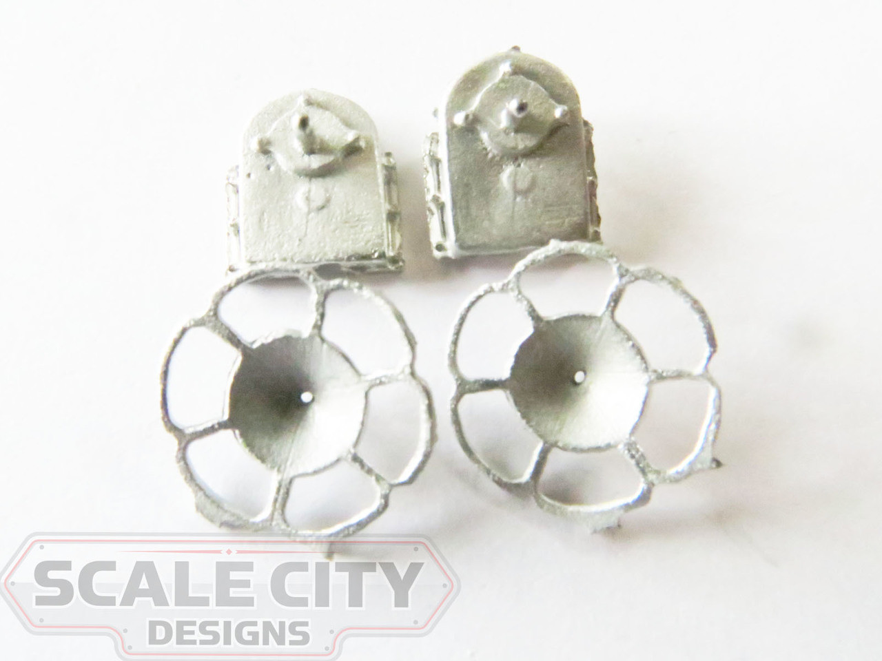 48-223 Brake Wheel and Miner gear box assembly FKA Keil Line O Scale
