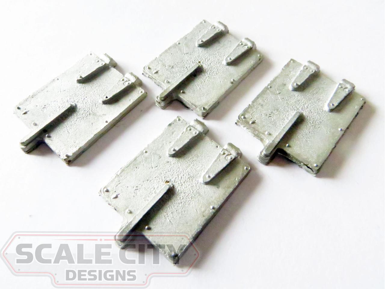 48-328 Roof Ice Hatch Steel Style Reefer O scale FKA Keil Line