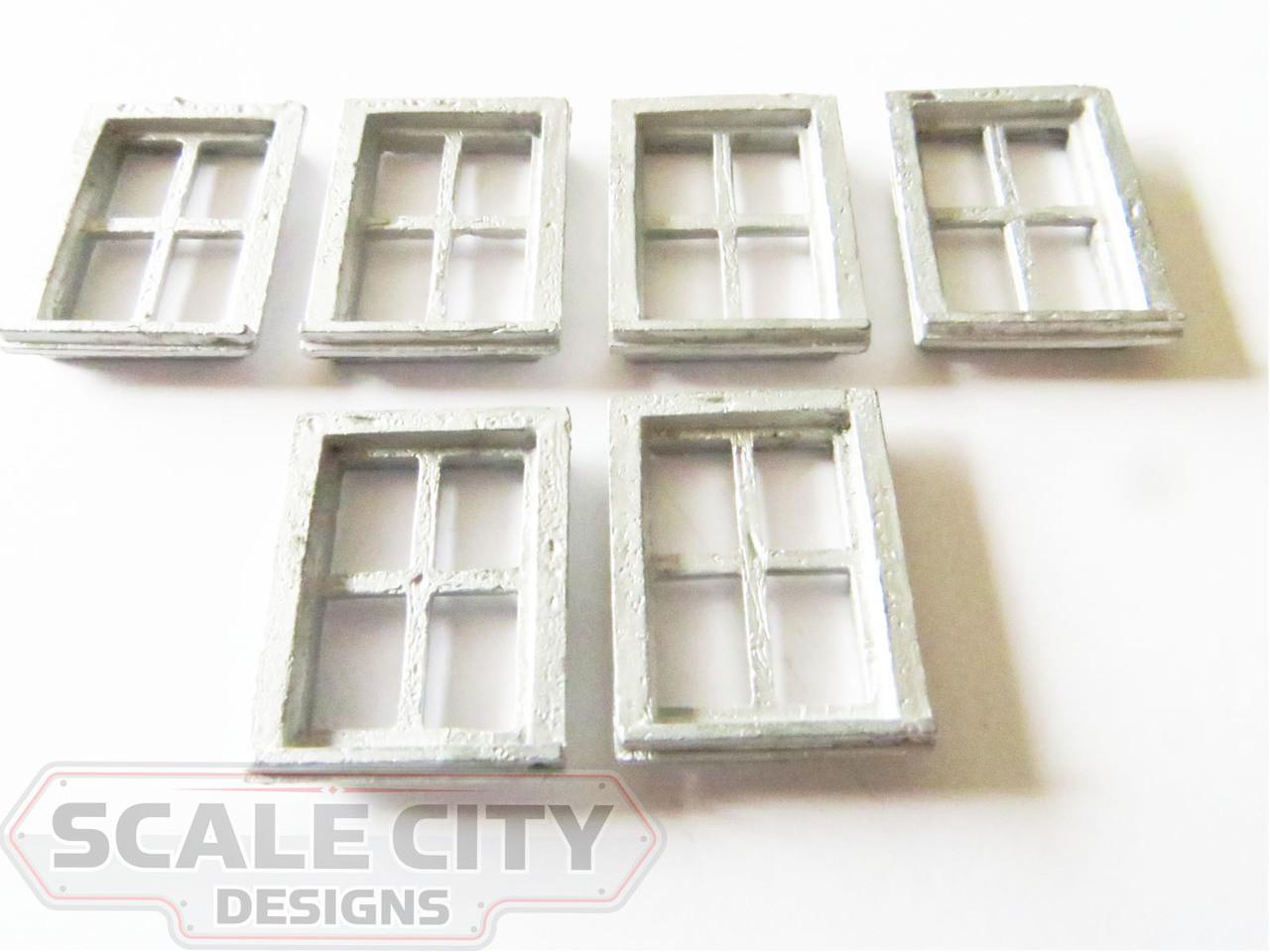 48-412 Caboose Windows O Scale FKA Keil Line