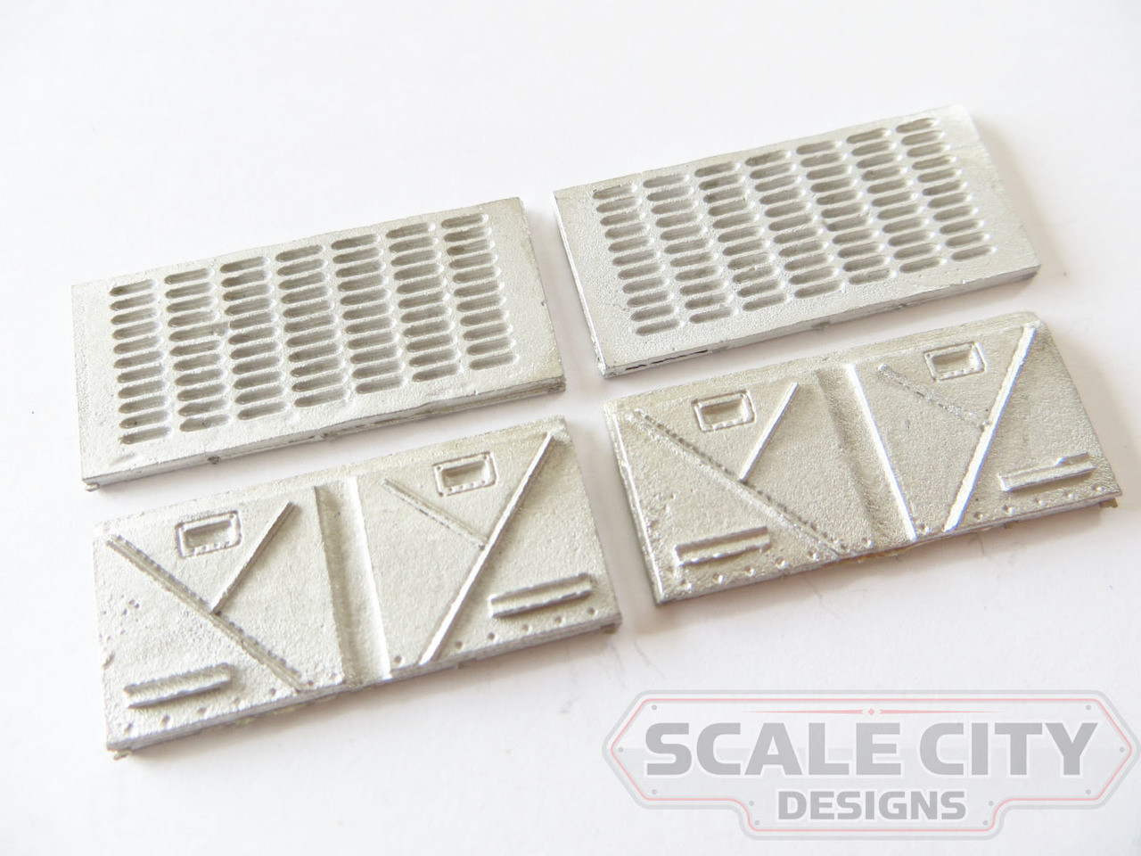 48-162 Southern Pacific Battery Box Covers FKA Keil Line O scale