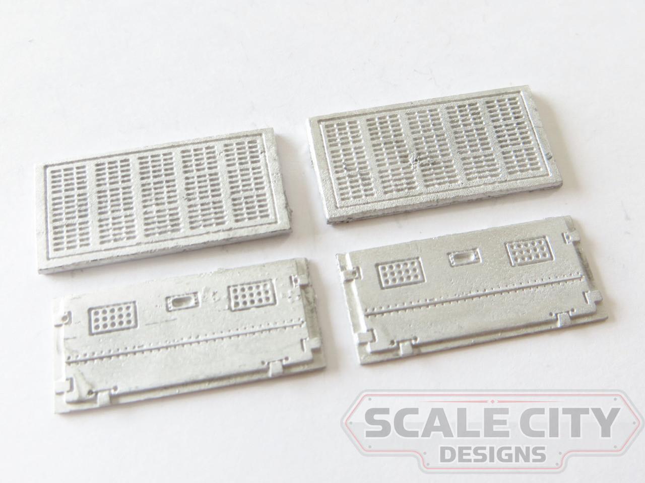 48-661 Battery Box Covers Light Weight Passenger Car FKA Keil Line