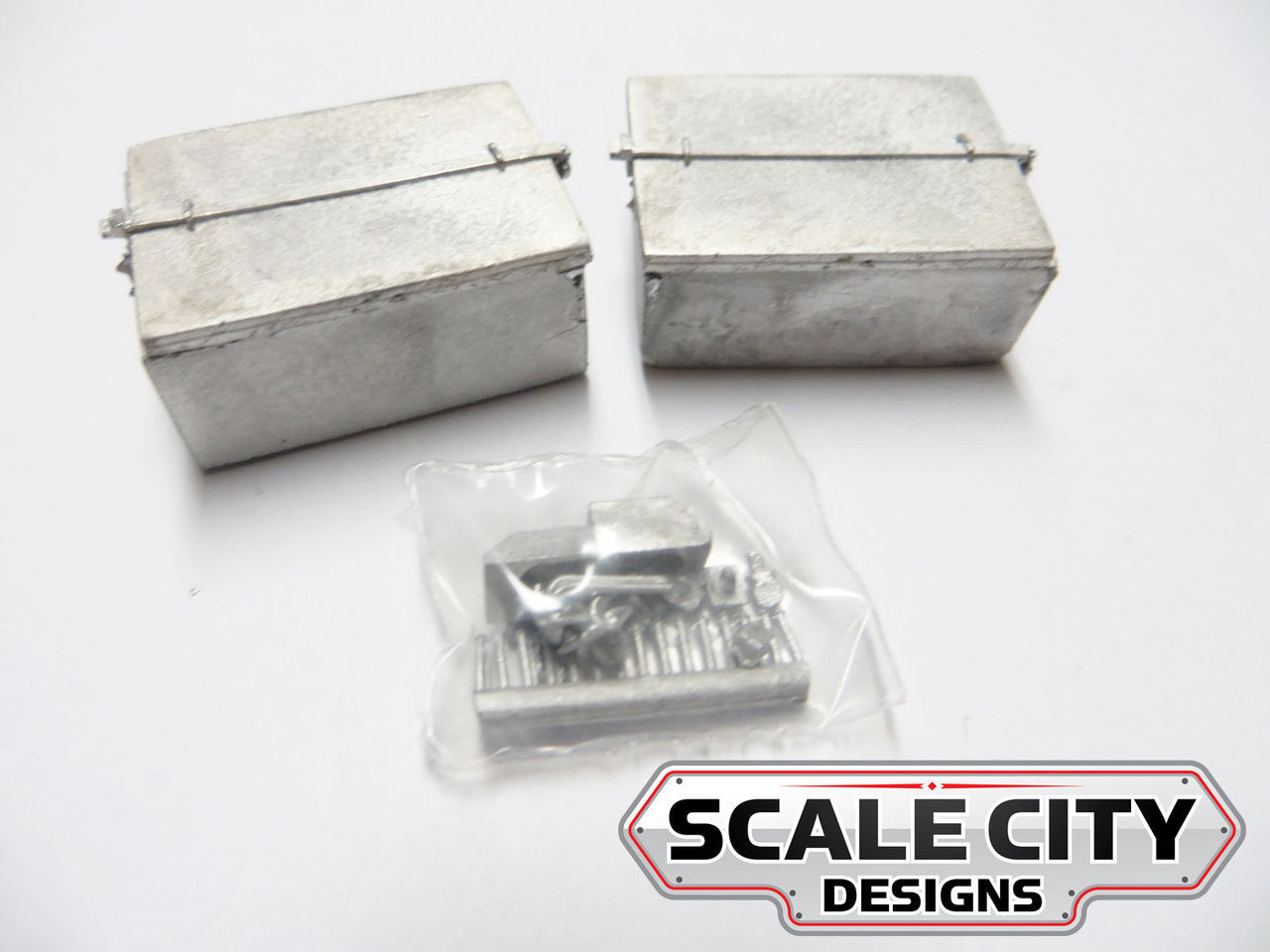 48-203 BATTERY VAULT LARGE RECTANGLE STYLE O SCALE FKA KEIL LINE 2 / 3 RAIL