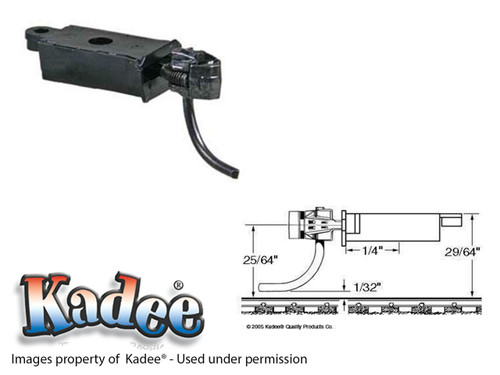 """178 Kadee® """"Scale"""" Metal Whisker® #158 Coupler & """"Scale"""" Gearbox HO Scale"""