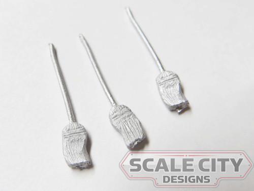 48-753 sweep broom in motion  O Scale FKA KEIL LINE