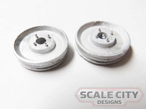 48-756 Machine Pulley industrial O Scale FKA KEIL LINE