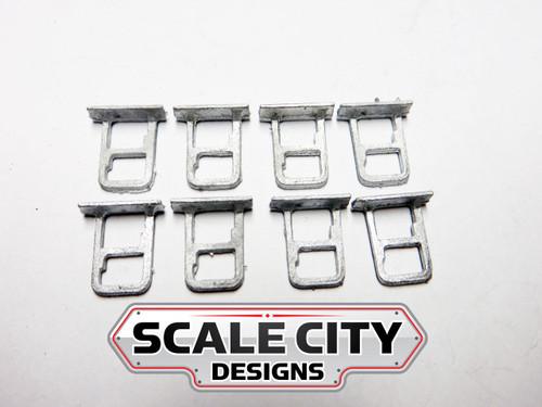 48-006 STEPS PASSENGER CAR STIRRUPS O SCALE (FORMERLY KEIL-LINE)
