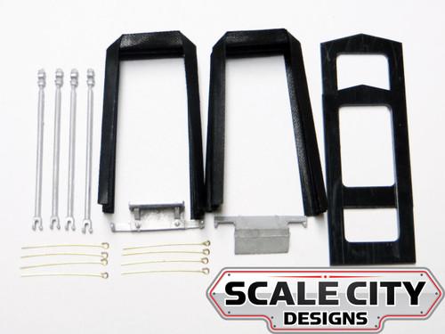 48-025 O Scale Passenger Car Diaphragm Complete Kit 2 3 Rail FKA KEIL LINE