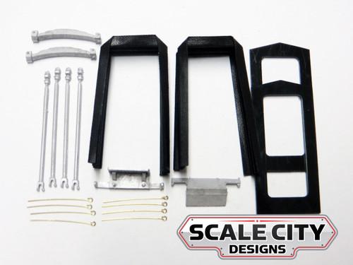 48-024 O Scale Passenger Car Diaphragm Master Kit w/ springs FKA KEIL LINE