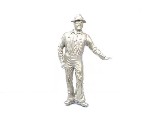 48-1435 Man Worker Leaning O Scale FKA Keil Line