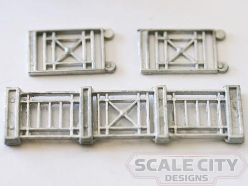 48-314 Observation Car Railing Set OBS O scale FKA Keil Line Walthers