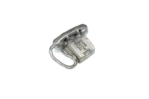 MM-29 Touch Tone Phone w/ cord Dollhouse Miniature