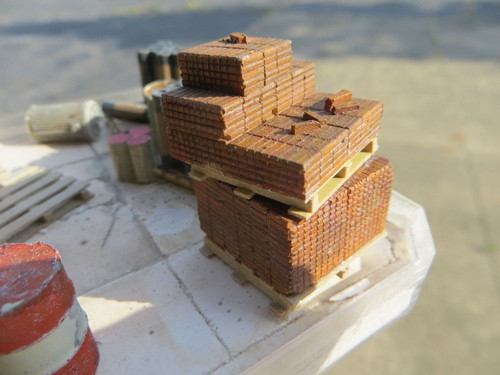 48-5022 Bricks for Pallet O ON3 Scale Details Diorama Resin Castings
