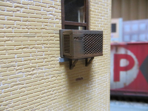 48-4007 Laser Cut Philco Air Conditioner Window Conditioning Kit O Scale