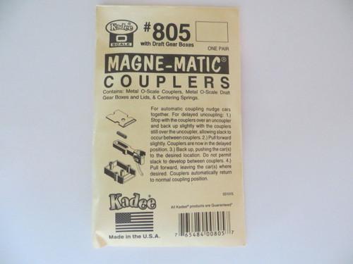 Kadee 805 O Scale Couplers All Metal