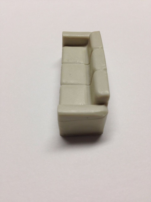 48-3015 1/48 O Scale Resin Couch Sofa casting Unpainted Layout Building Diorama