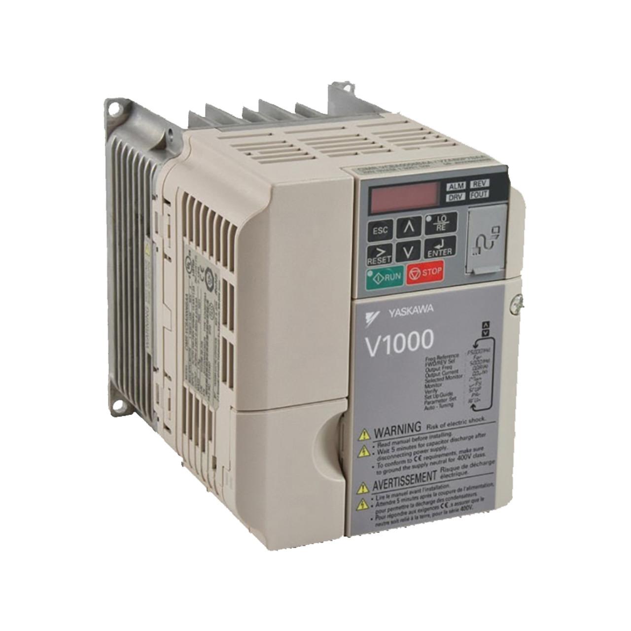 Yaskawa V1000 Series CIMR-VU2A0010FAA Compact Drive on