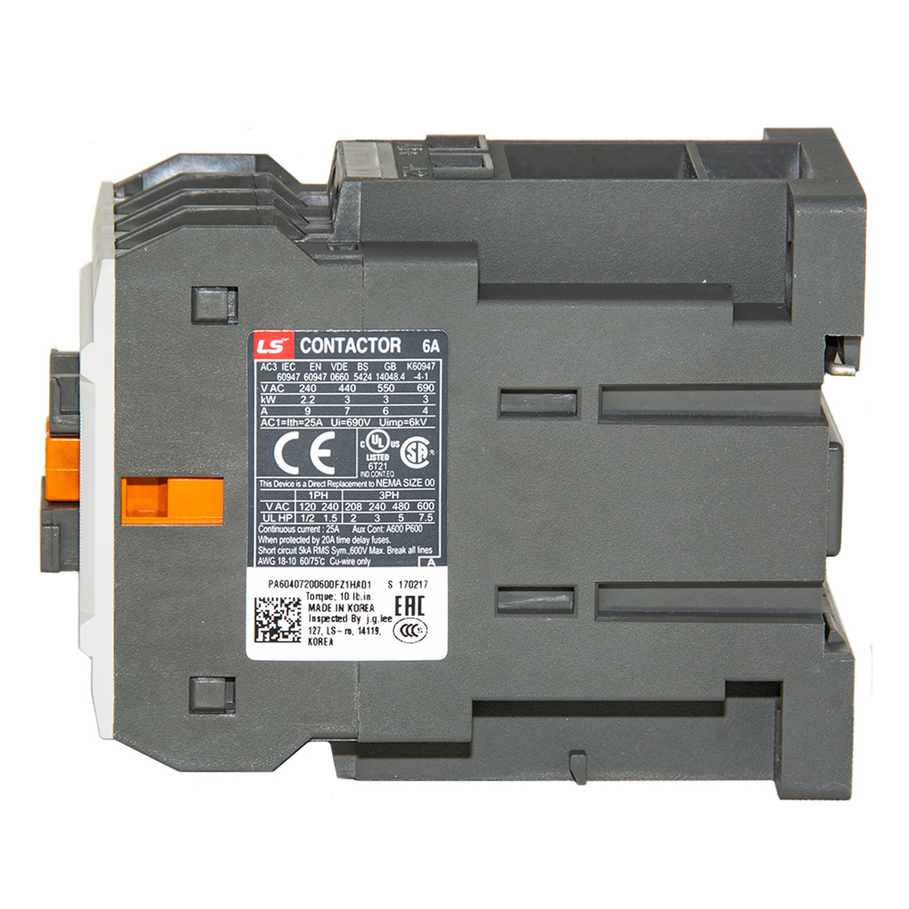 LSIS MC6A-40-00-BD-S-E METASOL Series Magnetic Contactor   Precision on lighting contactor, electrical contactor, 3 phase contactor,