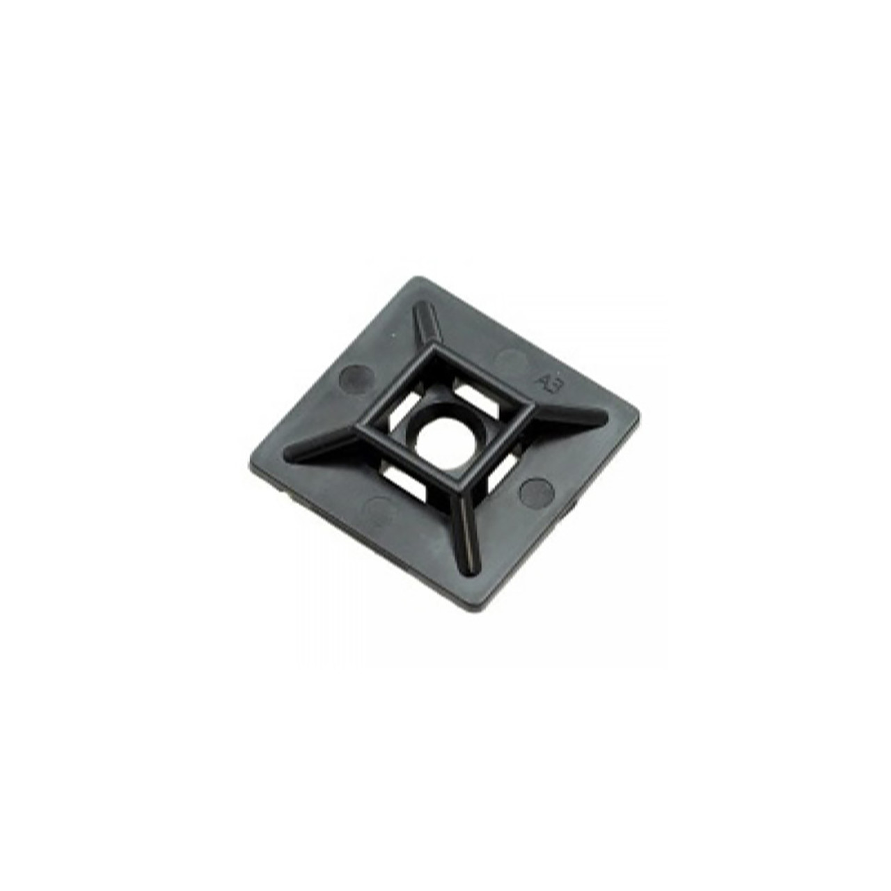 3f1e7584a5cd HFC2/4 Self-adhesive Cable Tie Mounts, 1.1 x 1.1in (28 x 28mm ...