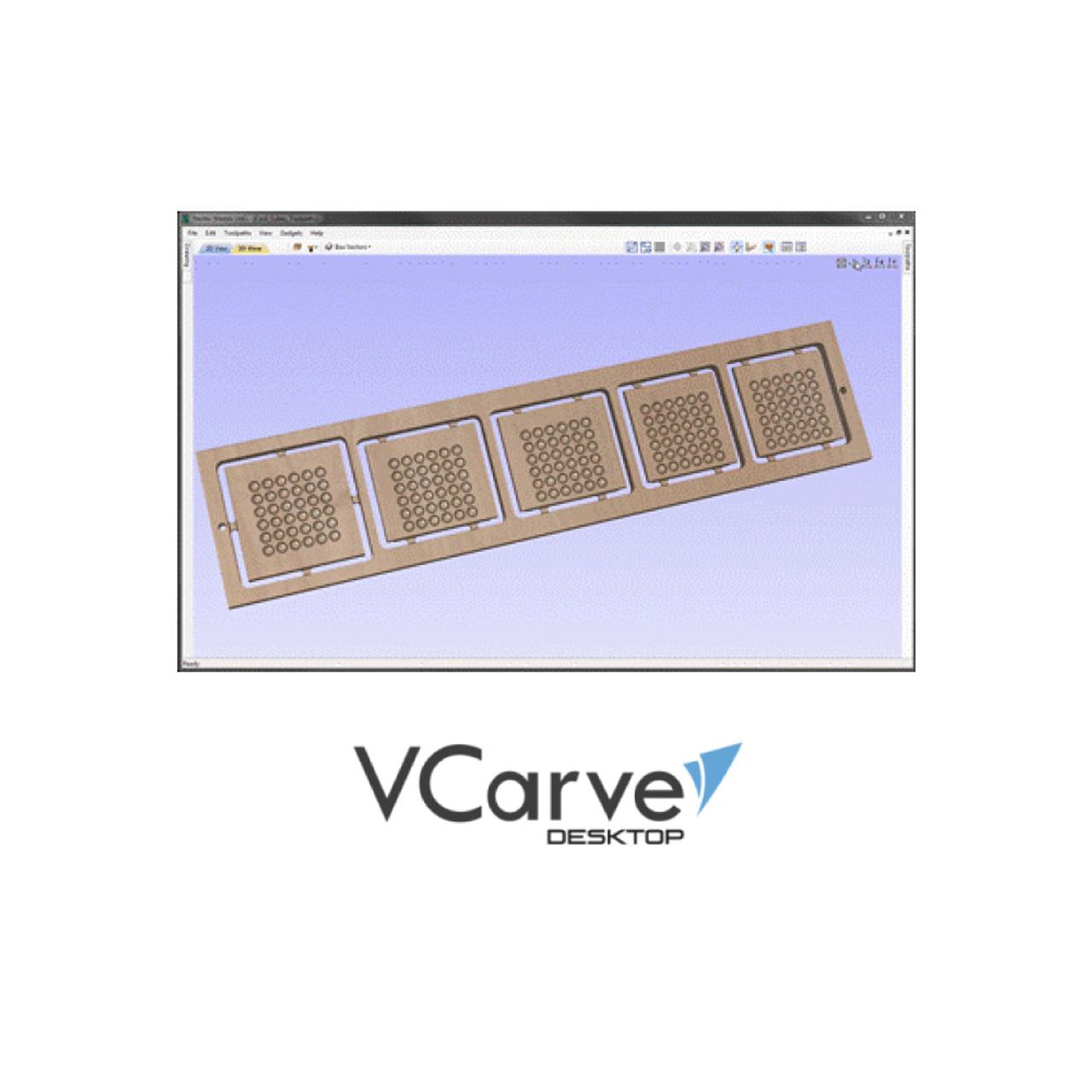 Vectric VCarve Desktop 2D / 2 5D Design Software For CNC Routers
