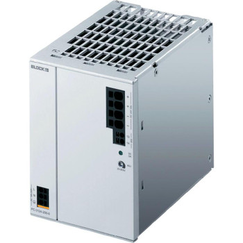 Block PC‑0324‑100‑0 Switched Mode DIN Rail Mount Power Supply