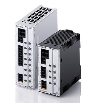 Block PC‑0724‑480‑0 Electronic Circuit Breaker, 24VDC, 8 channels