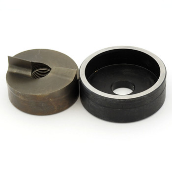 """ALFRA 01564 TwinCut Round Punch and Die Set 2-3/8"""" DIA"""