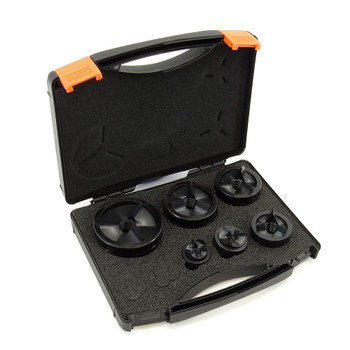 """ALFRA 01760 TriCut Round Punch and Die Kit , 1/2"""" to 2"""" Conduit DIA"""