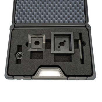 "ALFRA FormCut 01309 Square Punch and Die Set, 3-5/8"" x 3-5/8"", 1/4 DIN"