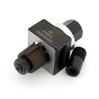 ALFRA 01429 Special Shape Punch, Die 30.5 mm with 4.8 mm External Notches Set