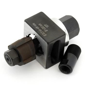 ALFRA 01433 Special Shape Punch, Die 23.2 mm 2-Sides Flattened 20.2 mm Set