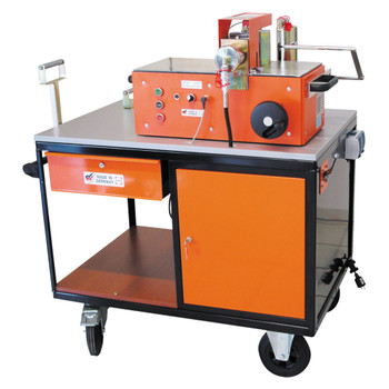 ALFRA 03950 Mobile Workstation Cart for Busbar Machines