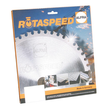 "ALFRA 22306 RotaSpeed 9"" DIA Circular Saw Blade for Aluminum Application"