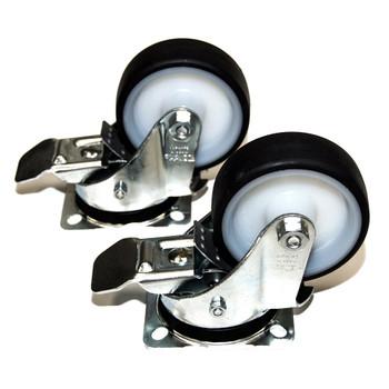 ALFRA 31003-025 Locking Caster wheels (Set of 2)