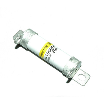 Hinode 1000FH-20UL Cylindrical Fast Acting Fuse, 20A, 1000V AC/DC
