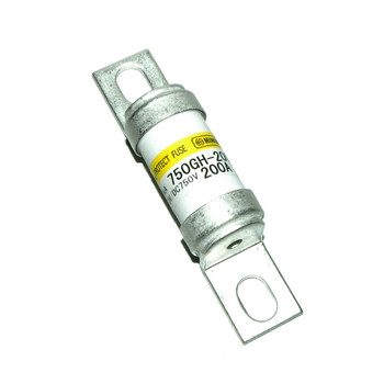Hinode 750GH-200UL Cylindrical Fast Acting Fuse, 50V AC/DC, 200A