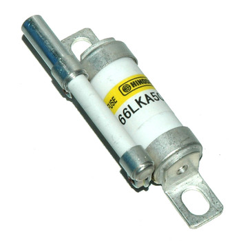 Hinode 66LKA-50ST Cylindrical Fast Acting Fuse, 660V AC/DC, 50A