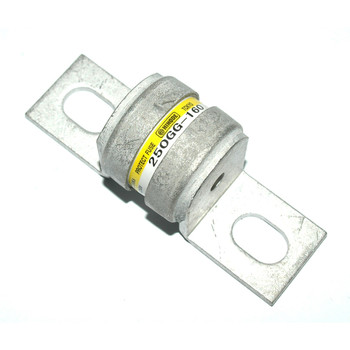 Hinode 250GG-160 Cylindrical Fast Acting Fuse, 250V AC/DC, 160A