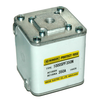 Hinode 1000SPF-350N Square Fast Acting Fuse, 1000V AC/DC, 350A