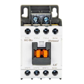 LSIS MC-18A METASOL Series Magnetic Contactor, AC120V 50/60Hz, 4P, EXP (MC18A-40-00-K7-S-E)
