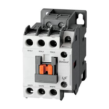 LSIS MC-18B METASOL Series Magnetic Contactor, AC480V 50/60Hz, Screw 1a1b, EXP (MC18B-30-11-W6-S-E)