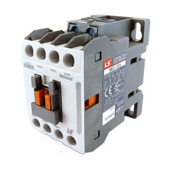 LSIS MC-12A METASOL Series Magnetic Contactor, AC240V 50/60Hz, 4P, Screw 1a, EXP (MC12A-40-00-U7-S-E)