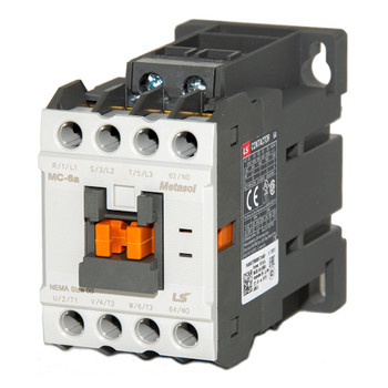 LSIS MC-6A METASOL Series Magnetic Contactor, DC24V, 4P, EXP (MC6A-40-00-BD-S-E)