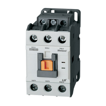 LSIS MC-40A METASOL Series Magnetic Contactor, AC208V 60Hz, Screw 2a2b, EXP (MC40A-30-22-LB6-S-E)