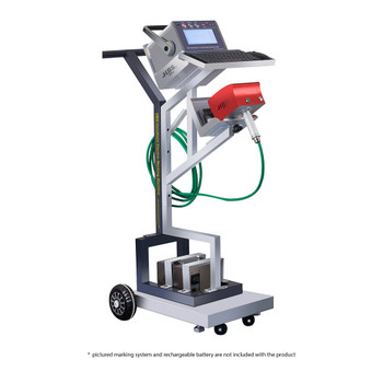 HBS Mounting Cart for Dot Peen Marking Systems (HBS-MCD)