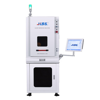HBS GQ Series Enclosed Fiber Laser Marking Station (HBS-GQ-20F)