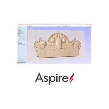Vectric Aspire 2D / 2.5D / 3D Design Software For CNC Routers