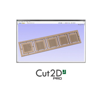 Vectric Cut2D Pro 2D Design Software For CNC Routers