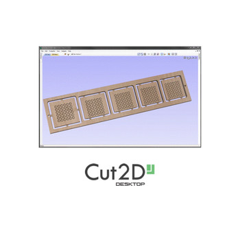 Vectric Cut2D Desktop 2D Design Software For CNC Routers